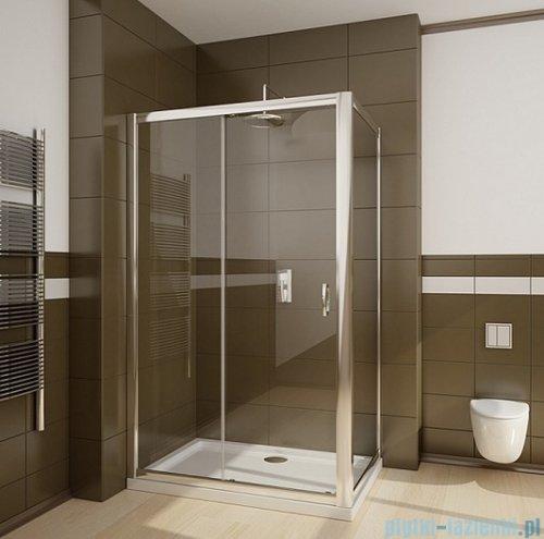Radaway Premium Plus DWJ+S kabina prysznicowa 100x80cm szkło brązowe