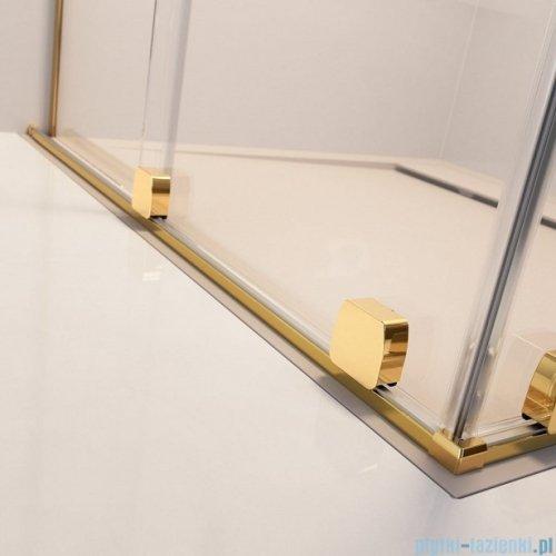 Radaway Furo Gold Walk-in kabina 120x200cm prawa szkło przejrzyste 10106638-09-01R/10110594-01-01