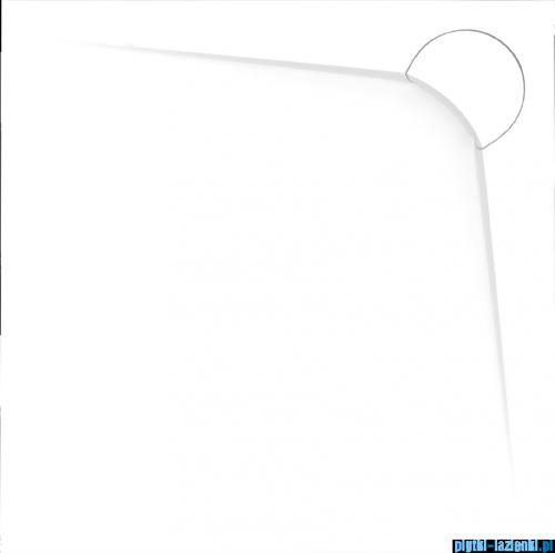 Vayer Bumerang 80x80cm Brodzik kwadratowy z konglomeratu marmurowego