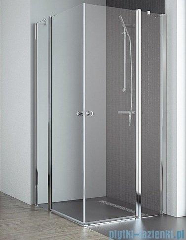 Radaway Eos II KDD kabina prysznicowa 80x100 szkło przejrzyste