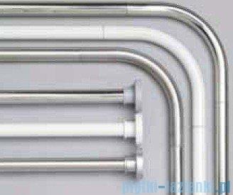 Sealskin Drążek prysznicowy Rod 2 Silver 110-185 cm aluminium biały 275552210