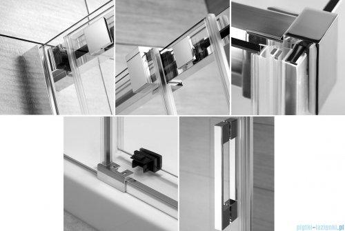 Radaway Espera DWJ Mirror Drzwi wnękowe przesuwne 100 lewe szkło przejrzyste 380495-01L/380210-71L