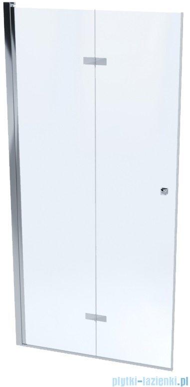 Massi Montero drzwi prysznicowe bifold 100x190cm przejrzyste MSKP-MN-0031000