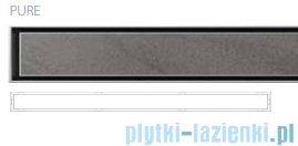 Wiper Premium Slim Pure odpływ liniowy 60 cm z kołnierzem RUSZT