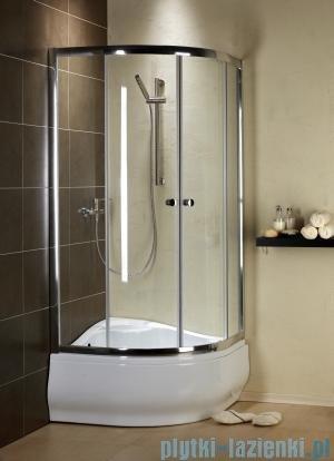 Radaway Premium A Kabina półokrągła 90x90x170 szkło przejrzyste