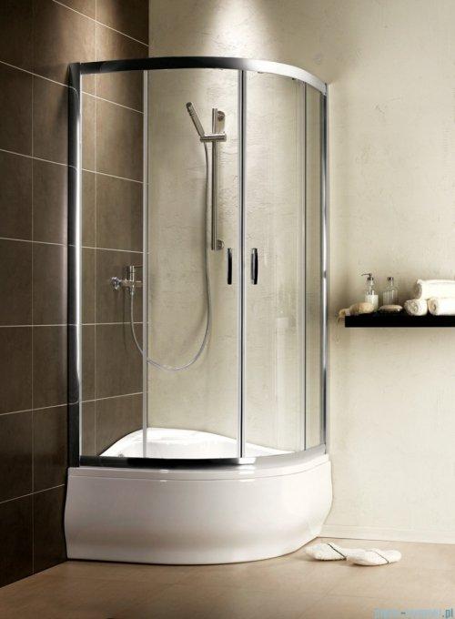 Radaway Premium Plus A Kabina półokrągła 90x90 wysokość 170cm szkło brązowe