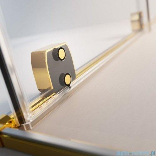 Radaway Furo Gold Walk-in kabina 160x200cm prawa szkło przejrzyste 10106838-09-01R/10110794-01-01