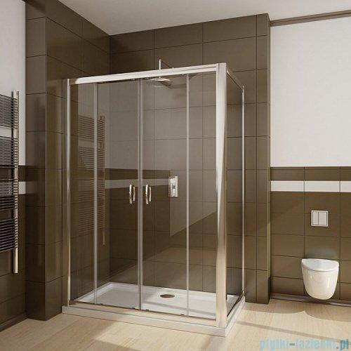 Radaway Premium Plus DWD+S kabina prysznicowa 140x80cm szkło brązowe