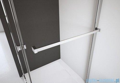 Radaway Torrenta Kdj Kabina prysznicowa 80x100 lewa szkło grafitowe + brodzik Doros D + syfon 32250-01-05NL