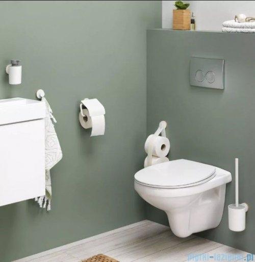 Tiger Urban Uchwyt na papier toaletowy z klapką biały 13166.3.01.46