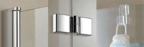 Kermi Diga Parawan 120x150cm lewy szkło przezroczyste profil srebro wysoki połysk DI2PL12015VAK