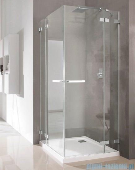 Radaway Euphoria KDD Kabina prysznicowa 80x80 szkło przejrzyste