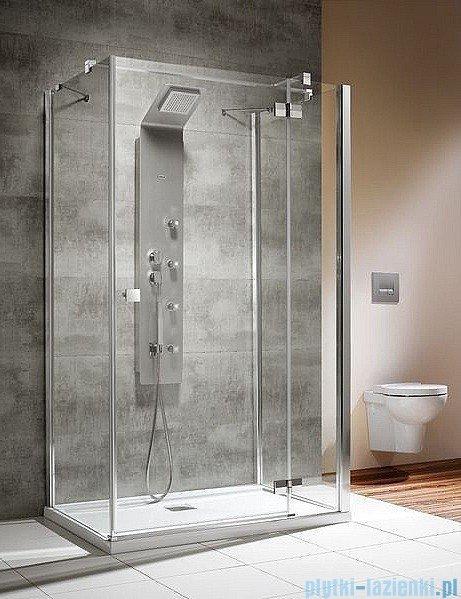 Radaway Kabina prysznicowa Almatea KDJ+S 80x90x80 prawa szkło przejrzyste