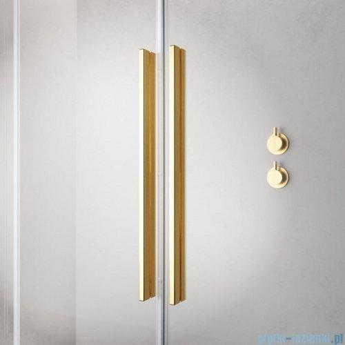 Radaway Furo Gold PND II parawan nawannowy 100cm prawy szkło przejrzyste 10109538-09-01R/10112494-01-01