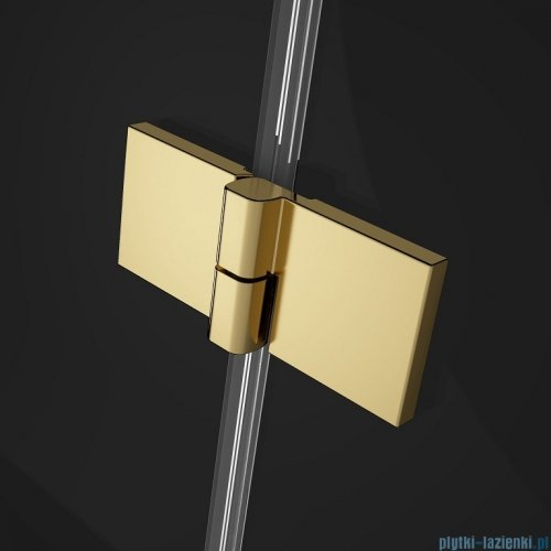 Radaway Essenza Pro Gold Kdj kabina 100x70cm lewa przejrzyste 10097100-09-01L/10098070-01-01