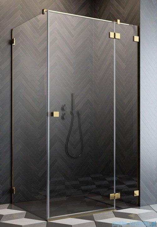 Radaway Essenza Pro Gold Kdj kabina 120x70cm prawa przejrzyste 10097120-09-01R/10098070-01-01