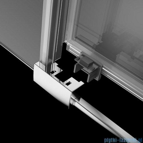 Radaway Idea Kdd kabina 120x80cm szkło przejrzyste + brodzik Doros D + syfon