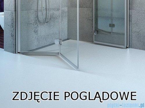 Radaway Fuenta New Kdj kabina 80x100cm lewa szkło przejrzyste 384043-01-01L/384052-01-01