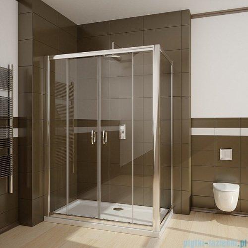 Radaway Premium Plus DWD+S kabina prysznicowa 160x100cm szkło brązowe