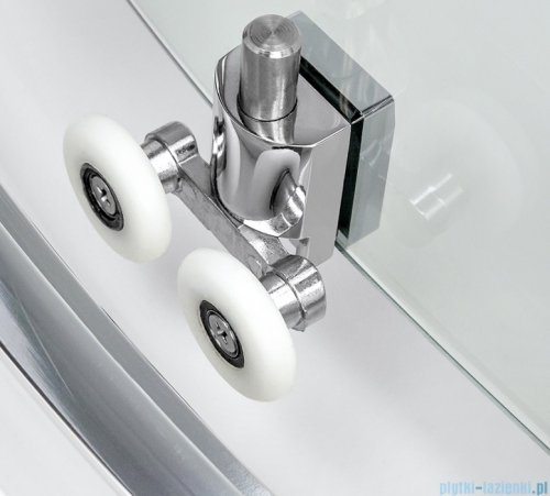 New Trendy New Varia kabina prostokątna 100x80x190 cm przejrzyste D-0189A/D-0104B