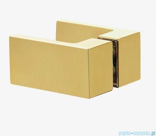 New Trendy Avexa Gold kabina prostokątna 100x80x200 cm przejrzyste lewa EXK-1754