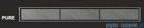 Wiper Odpływ liniowy Premium Pure 80cm z kołnierzem szlif PU800SPS100