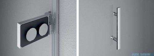 SanSwiss Pur PU31 Kabina prysznicowa 100x100cm lewa szkło przejrzyste PU31PG1001007/PUDT3P1001007