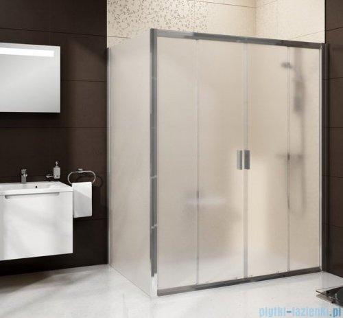Ravak Blix BLDP4 drzwi prysznicowe 140cm białe grape Anticalc 0YVM0100ZG
