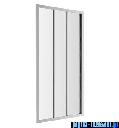 Omnires Bronx drzwi przysznicowe 90x185cm przejrzyste S20A390CRTR