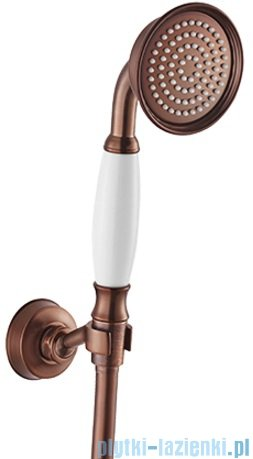 Omnires Armance-P zestaw prysznicowy punktowy 1-funkcyjny miedź antyczna Armance-PORB