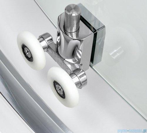 New Trendy New Varia kabina trójścienna 100x80x190 cm przejrzysta detale