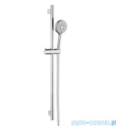 Omnires zestaw prysznicowy suwany 3-funkcyjny