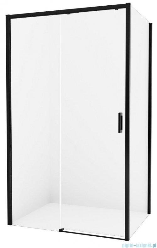 New Trendy Prime Black kabina prostokątna 130x70x200 cm lewa przejrzyste D-0322A/D-0127B
