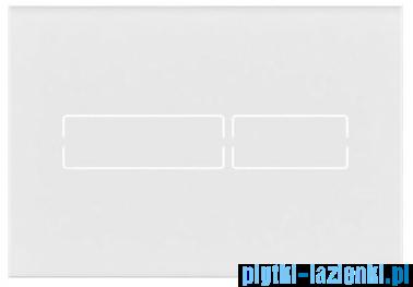 Tece Lux Mini przycisk spłukujący szkło białe 9.240.960