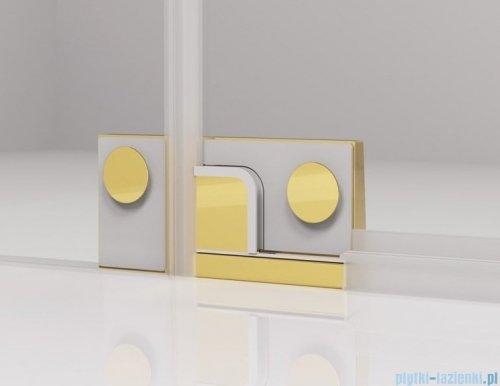 SanSwiss Cadura Gold Line drzwi wahadłowe 80 cm jednoczęściowe lewe z profilem przyściennym CA1CG0801207