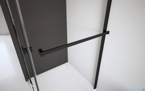 Radaway Modo New Black III kabina Walk-in 85x100x200 szkło przejrzyste 389085-54-01/389104-54-01/389000-54