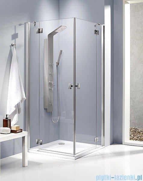 Radaway Kabina prysznicowa Essenza KDD 100x90 szkło brązowe