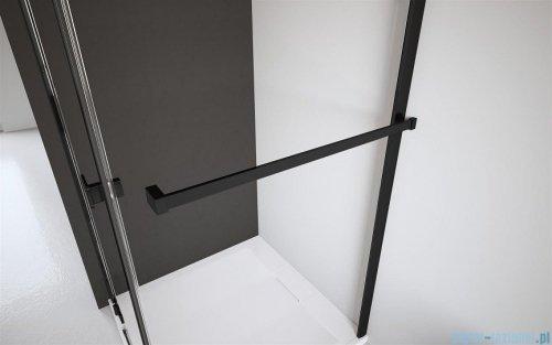 Radaway Furo Black KDJ RH kabina 90x110cm lewa szkło przejrzyste 10104442-54-01LU/10110460-01-01/10113110-01-01