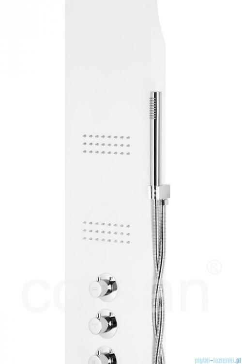 Corsan Akoja Panel natryskowy z termostatem biały A-025TBIAŁY