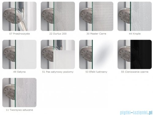 SanSwiss Pur PUE1 Wejście narożne 1-częściowe 40-100cm profil chrom szkło Efekt lustrzany Prawe PUE1DSM21053