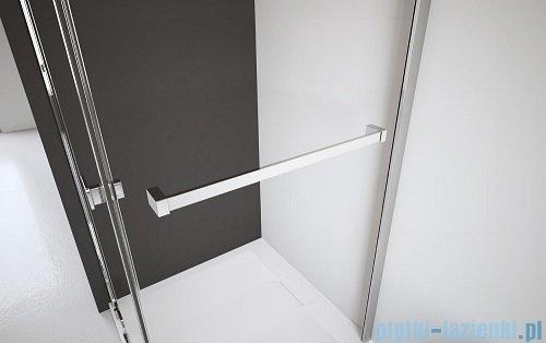 Radaway Euphoria KDJ Kabina prysznicowa 90x90 lewa szkło przejrzyste + brodzik Delos C + syfon 383612-01L/383241-01L/383050-01/SDC0909-01
