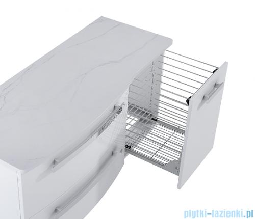 Elita Rolly komoda z koszem na cargo 40x56x42cm biały połysk 167713