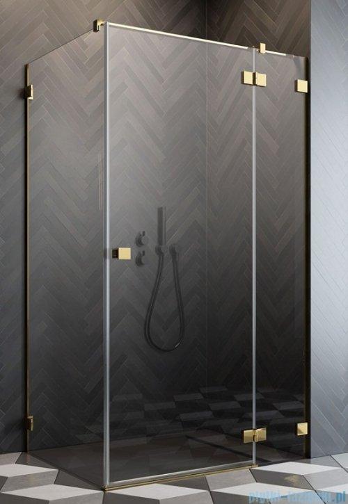 Radaway Essenza Pro Gold Kdj kabina 100x90cm prawa przejrzyste 10097100-09-01R/10098090-01-01