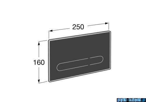 Roca EP1 przycisk elektroniczny A890102008