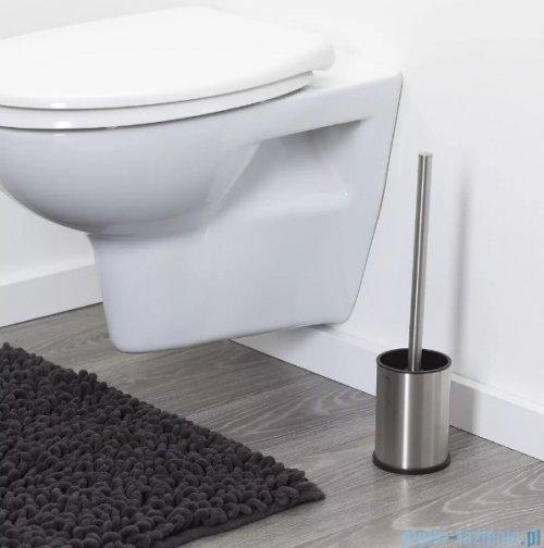 Tiger Colar Szczotka WC stojąca stal szczotkowana 13149.3.09.46