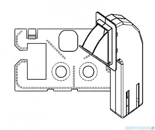 Fresh pojemnik na kostki kostkarka do stelaży DUOFIX UP320 / UP100 Sigma 201591252