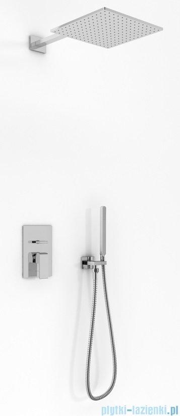 Kohlman Saxo zestaw prysznicowy chrom