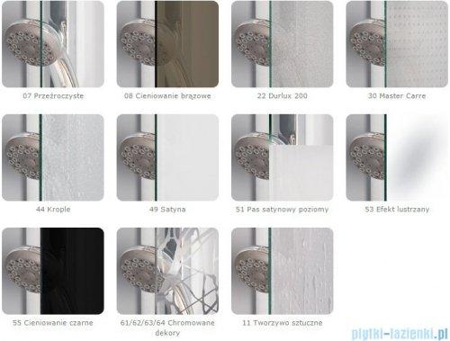 SanSwiss Pur PUDT3P Ścianka boczna 100x200cm efekt lustrzany PUDT3P1001053