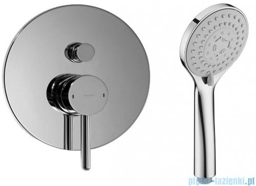 Omnires Y zestaw podtynkowy prysznicowy chrom SYSY21CR
