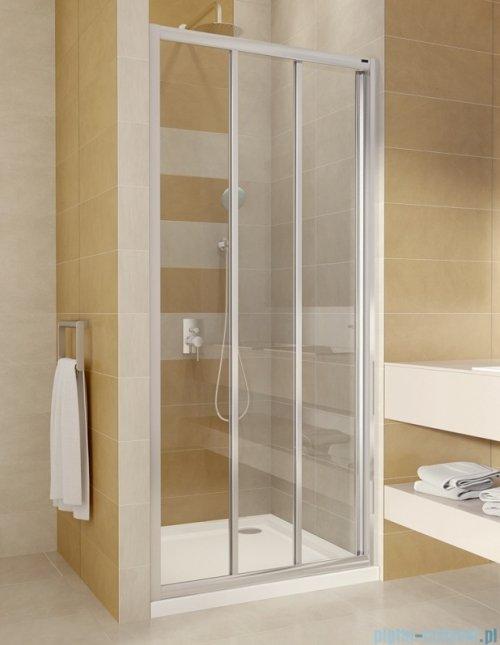 Omnires Bronx drzwi prysznicowe 100x185cm przejrzyste S20A3100CRTR